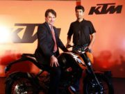 Stefan Pierer and Rajiv Bajaj