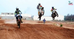 Supercross track in Coimbatore