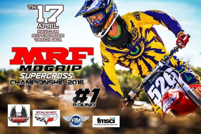Supercross event in Goa