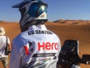 CS Santosh in Merzouga Rally 2016