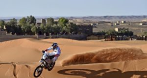 CS Santosh Merzouga Rally 2016
