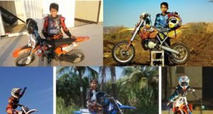 Junior Supercoss riders