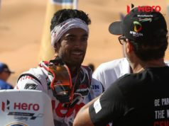 CS Santosh in Merzouga Rally 2017