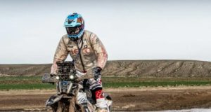 CS Santosh in Dakar 2018 stage 10