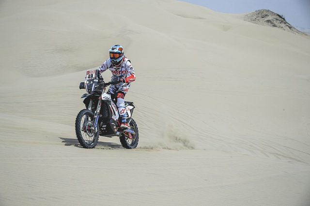 CS Santosh at dakar 2018