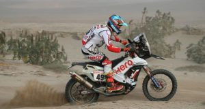 CS Santosh at dakar 2018 sage 8